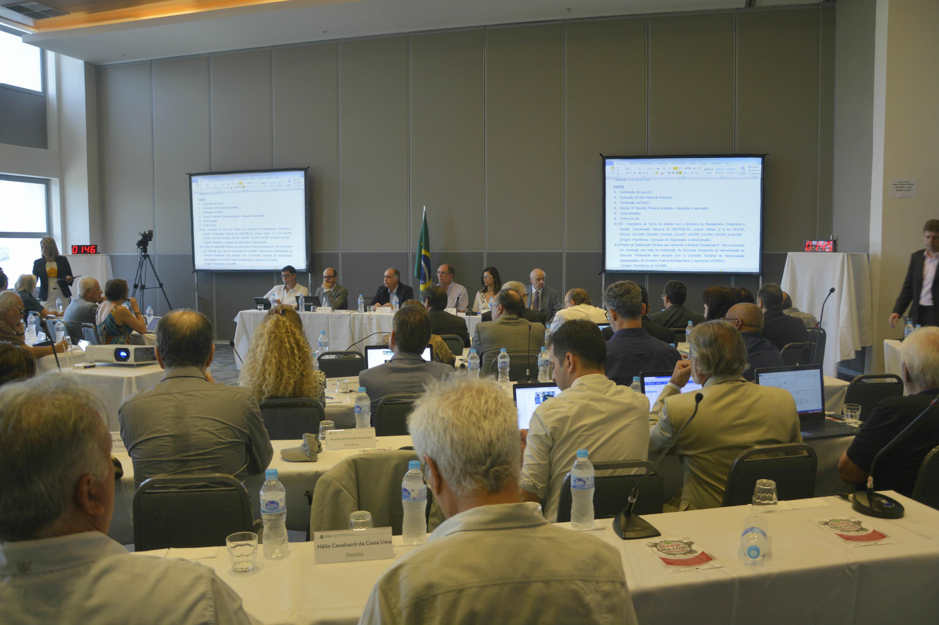 16ª Reunião Plenária do CAU/BR