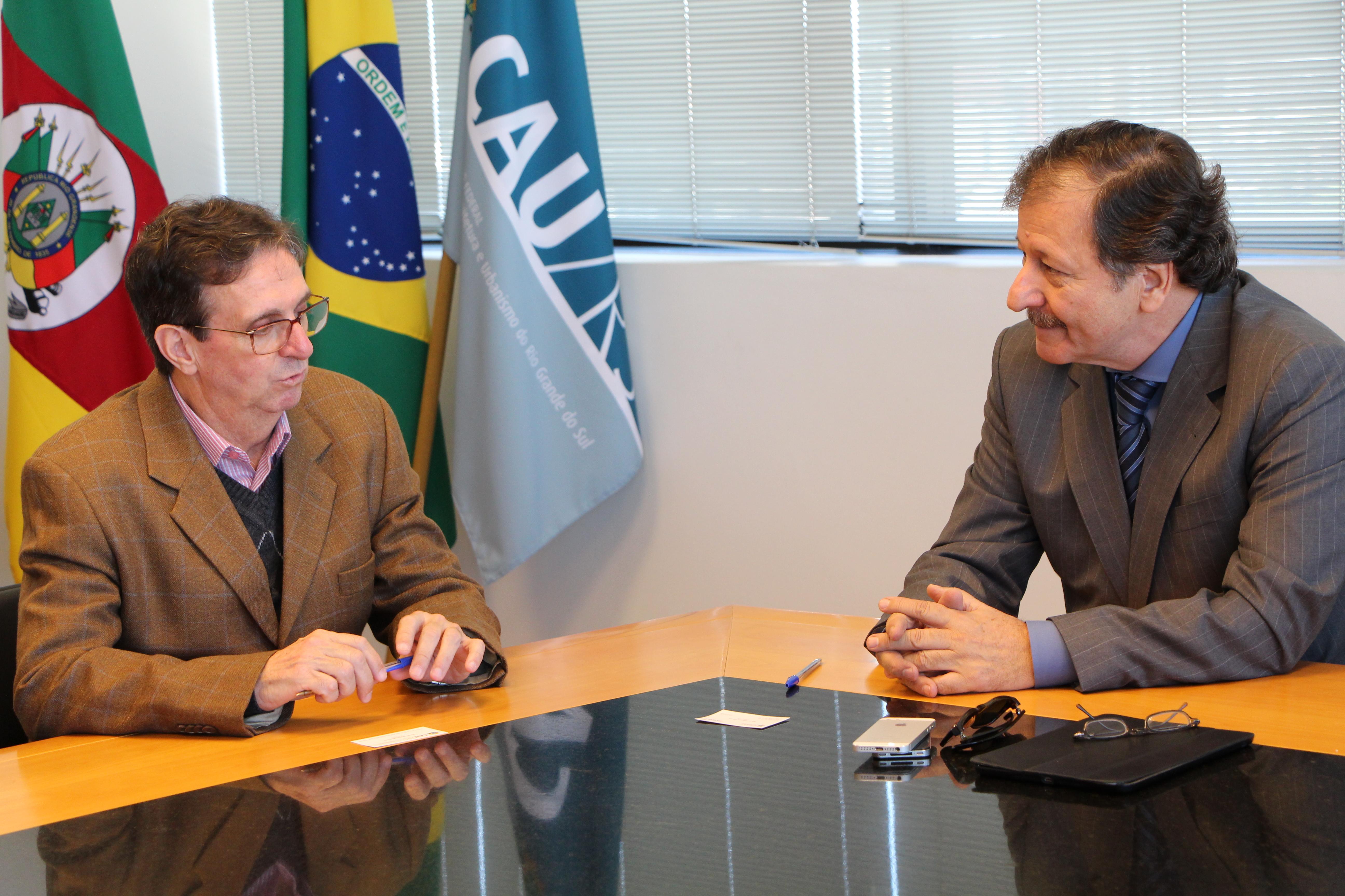 A parceria Jucergs e CAU/RS terá validade de pelo menos cinco anos.