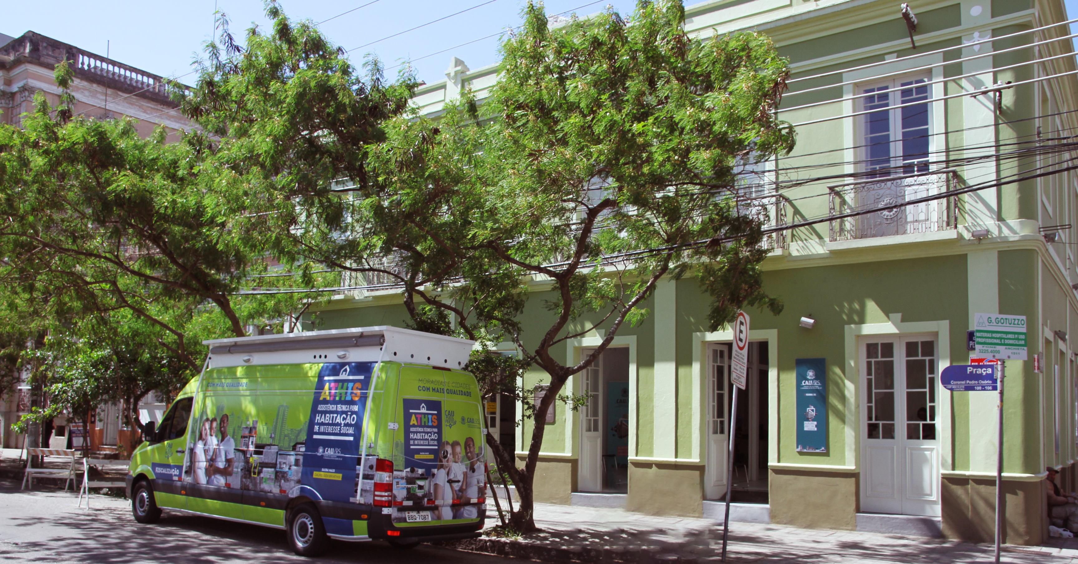 Escritório Regional do Conselho em Pelotas | Foto: CAU/RS